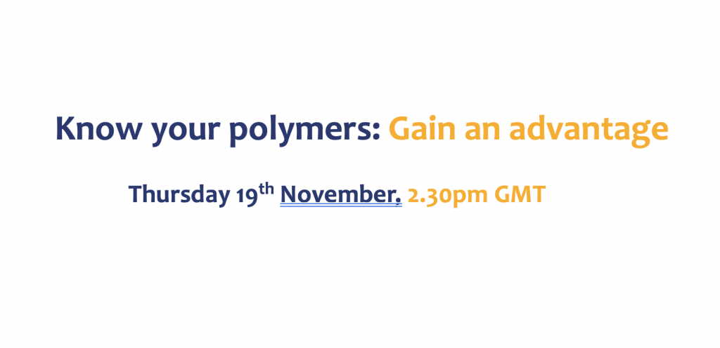 Know your polymers